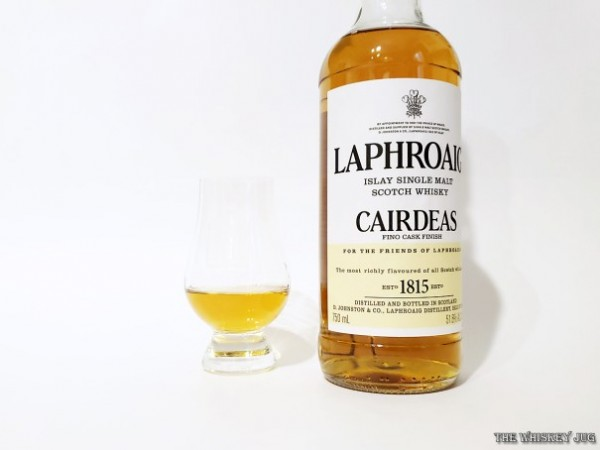 The 2018 Laphroaig Cairdeas release is finished in Fino Casks. Fino is the lighter side of sherry and adds a nice touch of sweetness to the whisky.