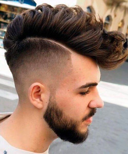 Fade haircut for handsome men by Ivan Novov   Epicurious