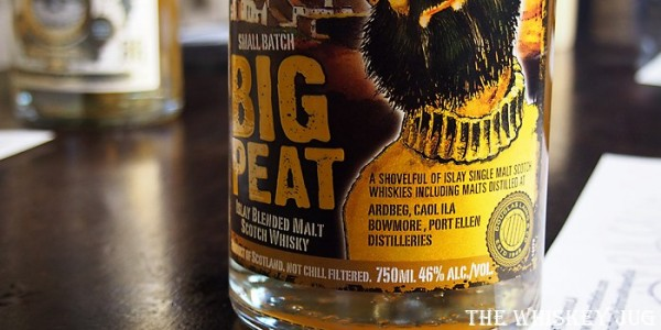 Big Peat Whisky Label