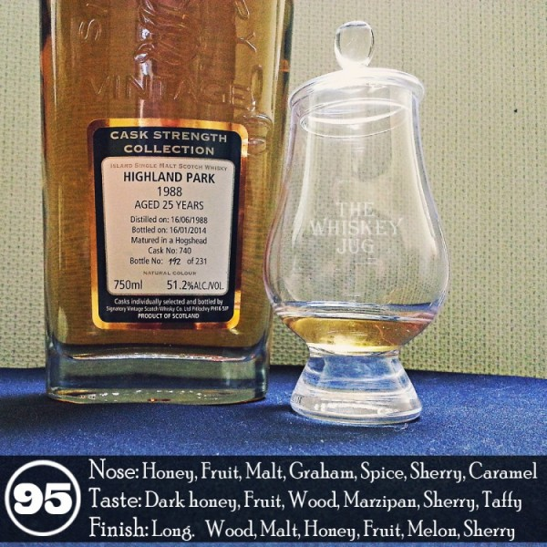 1988 Highland Park 25 years Signatory Vintage Review