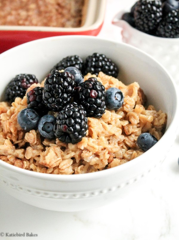 simple, homemade baked oatmeal with all the flavor you love from the ...