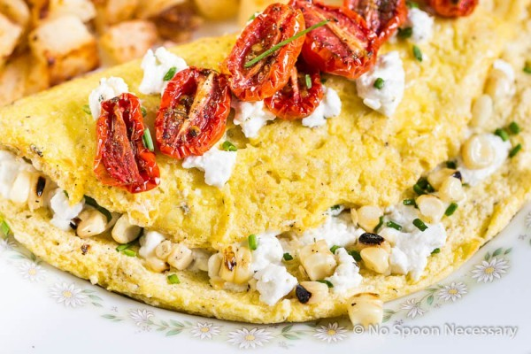 Corn & Chive Omelette-95