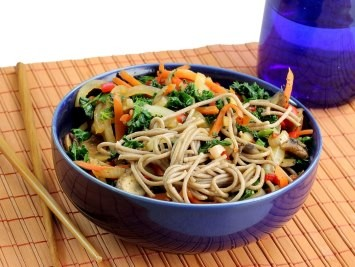 Asian Soba Noodle Salad