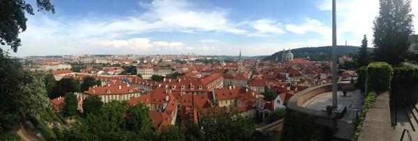 Viewpoint Prague Castle