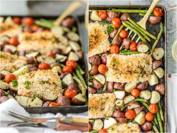 Honey-Mustard Salmon With Green Beans Recipes — Dishmaps