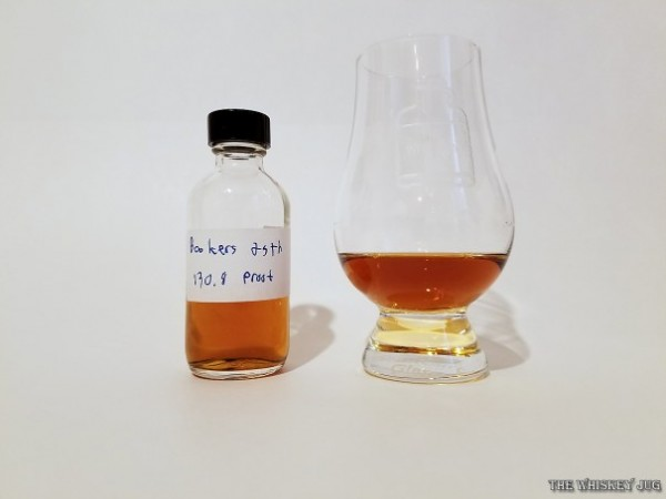 Booker's 25th Anniversary Bourbon Color
