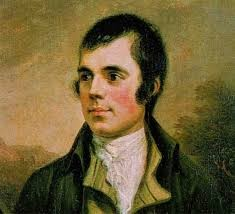 Rabbie Burns - 18th century hipster chic!