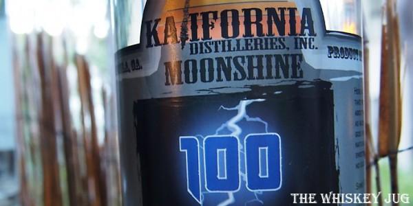 Kalifornia Distilleries Corn Whiskey Label