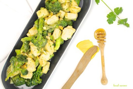 Honey Mustard Broccoli Chicken | LocalSavour.com