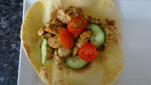 Chicken Gyros With Tzatziki Sauce by Shazia Ijaz ...