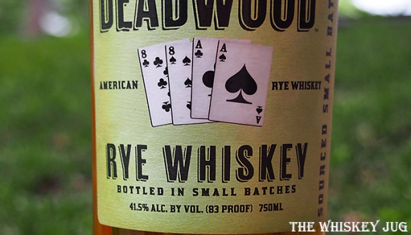 Label for the Deadwood Rye