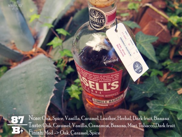 Russell's Reserve Single Barrel 550 Review