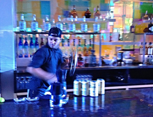 Leo Rivas from Normandie Club shaking things up