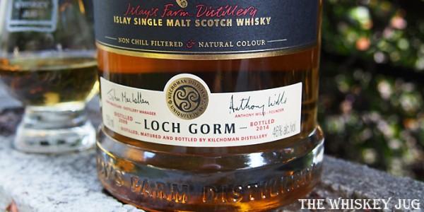 Kilchoman Loch Gorm Label