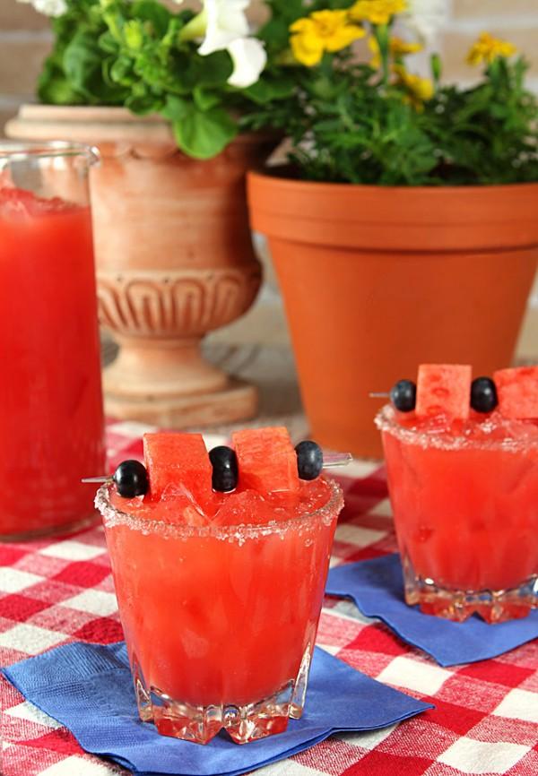 Watermelon Margarita from @creativculinary
