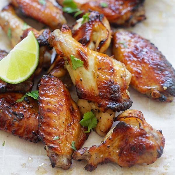 Sweet Thai Chicken Wings