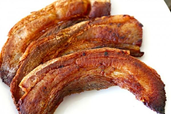 Homemade Jamaican Jerk Bacon