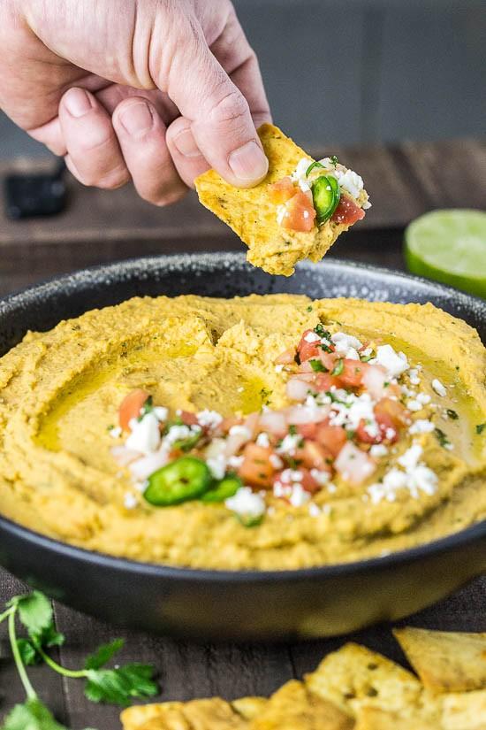 Fajita Flavored Hummus-101