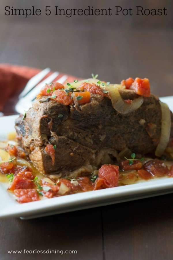 Moist and Juicy Crockpot Pot Roast