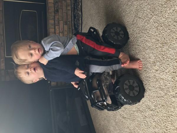 My boys today!