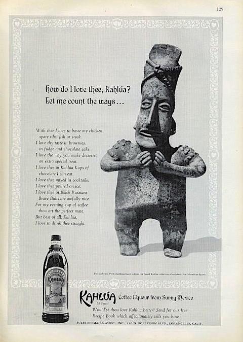 Kahlua, 1969
