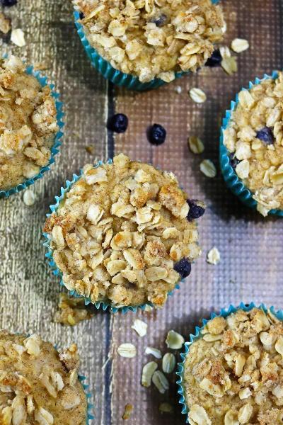 Blueberry Jicama Muffins Image