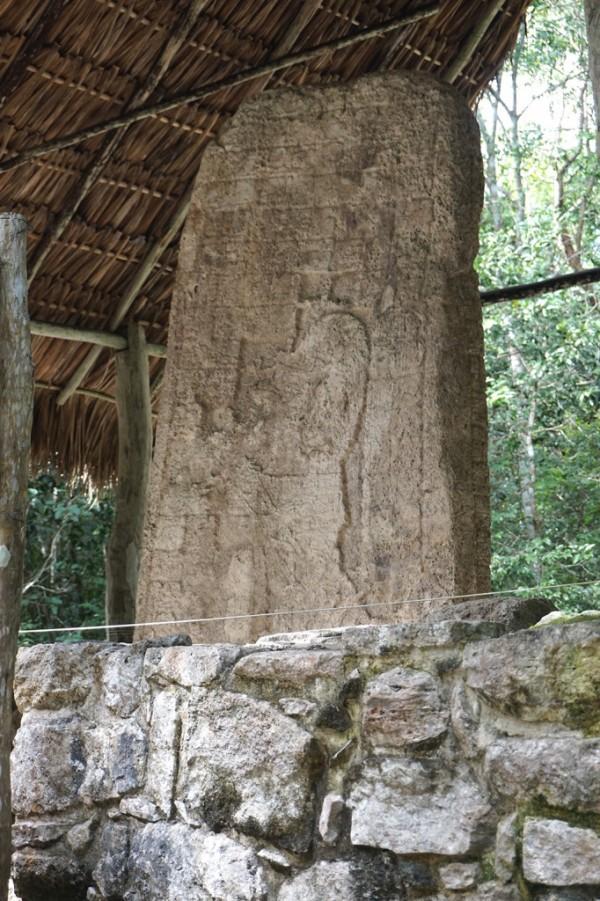 Stela sculpture