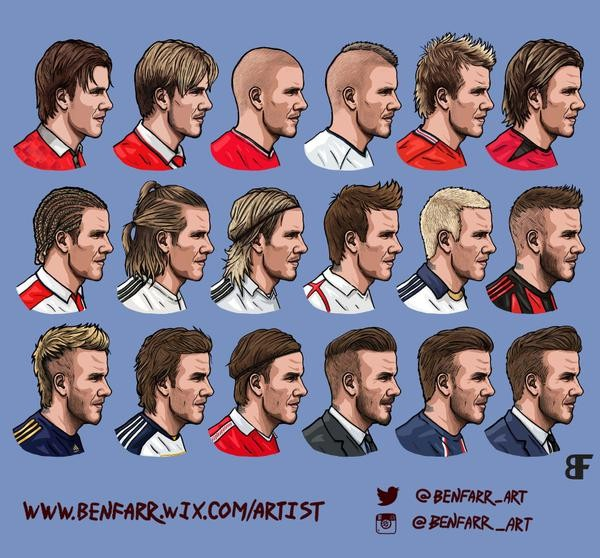 Superb A Guide On How To Get David Beckham39S Perfect Hairstyles By Marcos Short Hairstyles Gunalazisus