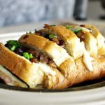 Italian Sausage and Caramelized Onion Pull Apart Bread