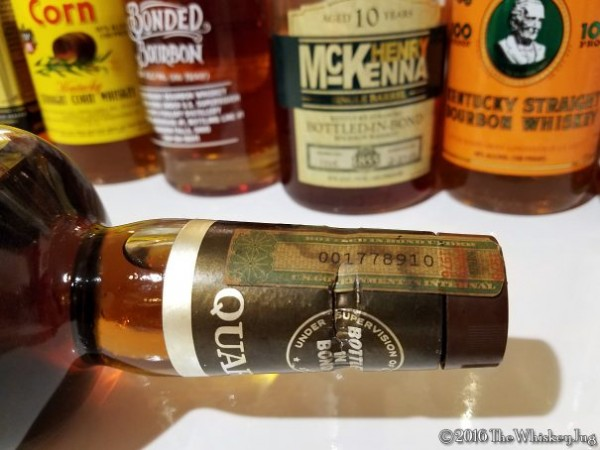 Bonded Bourbon 1
