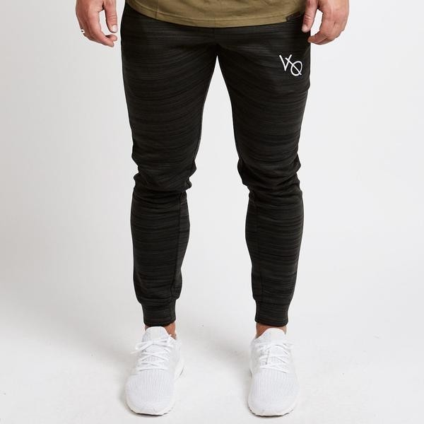 Vanquish Khaki Flux Tapered Sweatpants