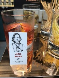 Who needs garnish when you have a Sipsmith Jared Brown decal?
