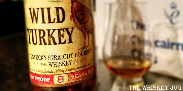 Wild Turkey 8 years Label