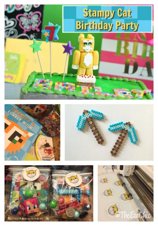 Everything You Need For The Best Minecraft Themed Birthday Party