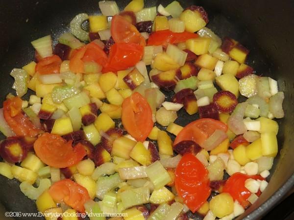 Soup au Pistou or Provencal Minestrone Soup ©EverydayCookingAdventures2016