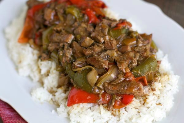 Slow Cooker Pepper Steak by Sarah | Epicurious Community Table