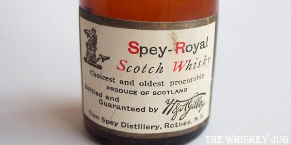 Pre-Prohibition Spey-Royal Label