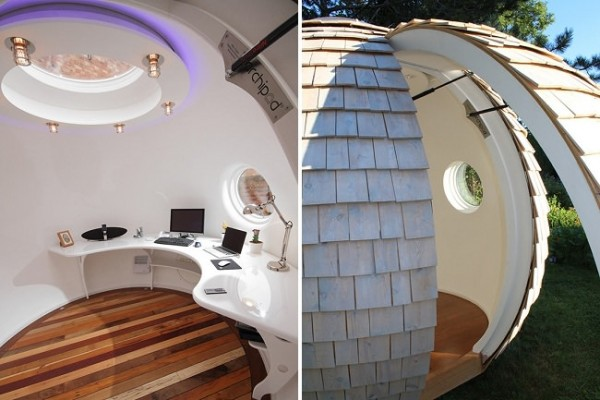 Take Your Home Office Outdoors With This Backyard Office Pod by