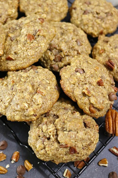 Gluten Free Chocolate Chip Pecan Cookies Image