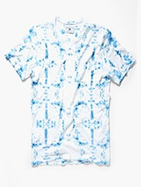 He By Mango Tie-dye Print T-shirt