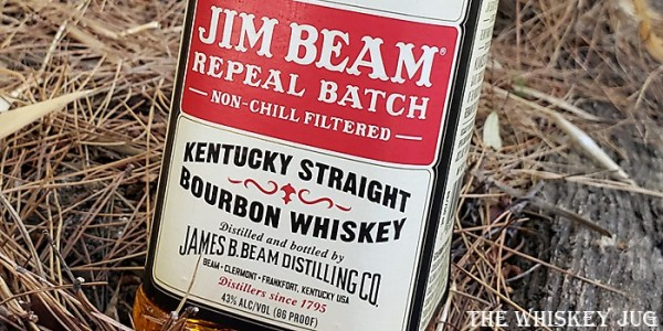 Jim Beam Repeal Batch Bourbon Label
