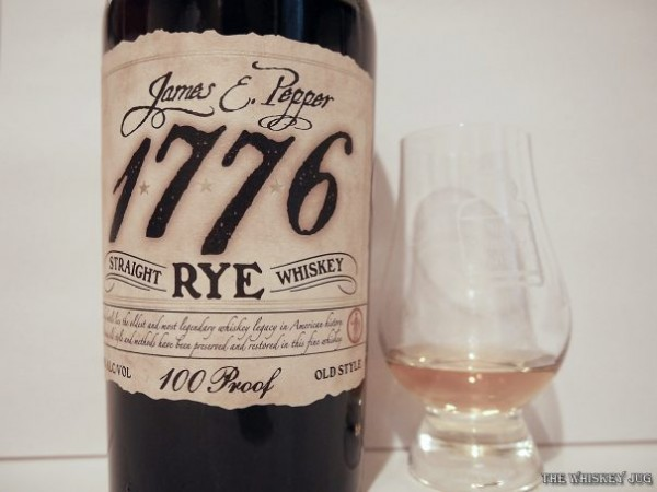 James E Pepper Rye Color
