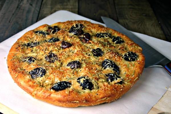 Greek Olive Focaccia Bread | Life, Love, and Good Food