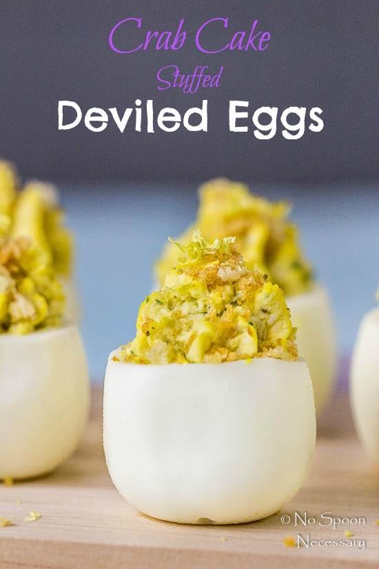 Crab Cake Stuffed Deviled Eggs-short pin1