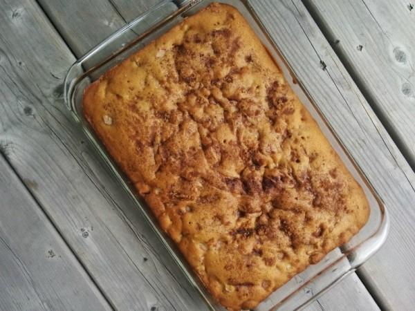 rhubarb cake pan