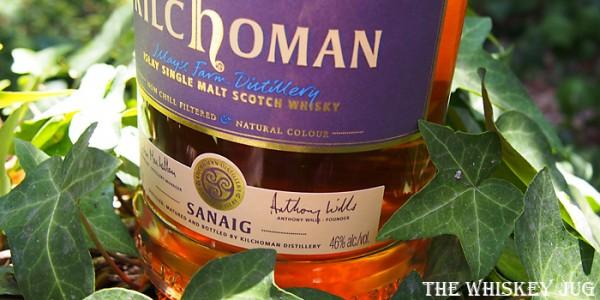 Kilchoman Sanaig Label