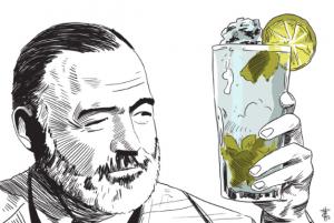 Hemingway and his Mojito