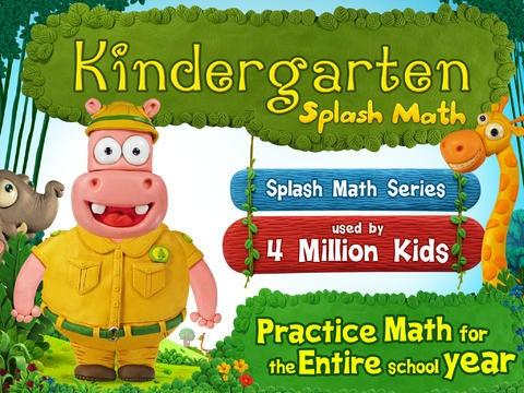Kindergarten Splash Math