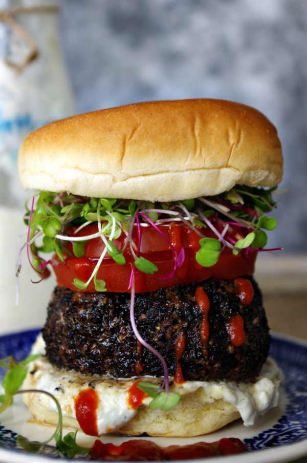 Coffee Rubbed Burger by Shea Goldstein | Epicurious Community Table