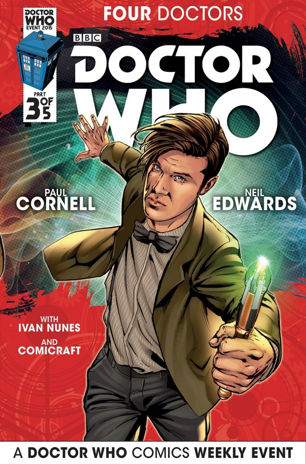 Doctor Who: Four Doctors #3 cover